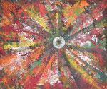 456 PB Explodierende Farbtube, Acryl auf Hartfaser, 2015, 29 x 35 cm, 110 Euro zzgl. Versand
