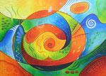 311 Mir geht es gut, Öl auf Leinwand, 2012, 70x50 cm, verkauft