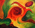 237 Seelenmalerei I, Öl auf Leinwand, 2010, 50x40 cm, 250 Euro