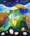 259 Wintersonnwende, Öl auf Leinwand, 2011, 50x60 cm, verkauft