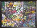 273 PB Abstrakt, Acryl auf Hartfaser, 2011, 40 x 30 cm, 120 Euro zzgl. Versand