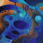 263 Schatten 2, Öl auf Leinwand, 2011, 40x40 cm, 180 Euro