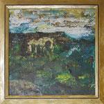 278 PB Landschaft, Acryl auf Hartfaser, 2011, 40 x 40 cm, 140 Euro zzgl. Versand