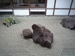 龍野城庭石