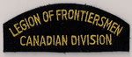 Legion of Frontiersmen - Canadian Division