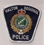 Halton Regional - Police - Constable / Patrol  (Ontario)  (1er modèle / 1rst model)