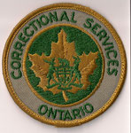 Correctional Services Ontario  (Vieux modèle rond / Old round model)