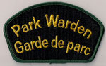 Park Warden / Garde de parc  (Vert / Green)  (Ancien / Obsolete)