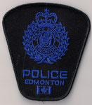 Police Edmonton - ERT  (Alberta)  (Bleu/Blue)  (Velcro au verso / Scratch behind)  (Ancien modèle / Last model)