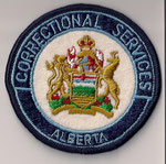 Correctional Services - Alberta  (#1)  (Modèle rond / round)