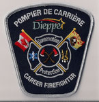 Pompier de Carrière - Dieppe - Career Firefighter