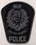 New Westminster Police - ERT  (C-B / BC)  (1er / 1rst)  (Format large / Large size)  (2000 - 2007)  (Ancien modèle / Last model)