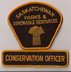 Saskatchewan - Parks & Renewable Resources - Conservation Officer