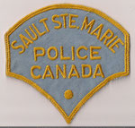 Sault Ste.Marie Police Canada  (Ontario)  (Très vieux modèle / Very old model)