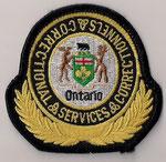 Ontario - Correctional Services Correctionnels  (Moyen format 1 / Medium size 1)