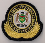 Ontario - Correctional Services Correctionnels  (Petit format / Small size)