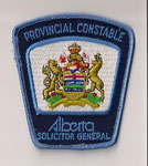 Provincial Constable - Alberta - Solicitor General
