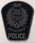 New Westminster - Police - ERT  (C-B / BC)  (2ème / 2nd)  (Format large / Large size)  (2000 - 2007)  (Ancien modèle / Last model)