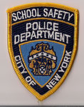 School Safety - Police Department - City of New York  (Petit modèle / Small model)