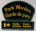 Park Warden / Garde de parc  (Avec barre verte / With green bar)  (Ancien / Obsolete)