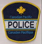 (#2)  Canadian Pacific - Police - Canadien Pacifique  (Vieux / Obsolete)