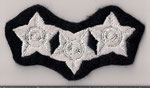 #1 - 15 ans de Service / 15 years of Service  (T-N & L / NF & L)  Corrections  (3 Étoiles / 3 Stars)  (Argent - Agent / Silver - Officer)  (Ancien / Obsolete)