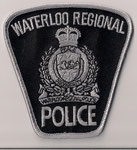 Waterloo Regional Police - ERT  (Ontario)  (Noir & Gris / Black & Grey)  (Actuel/Current)