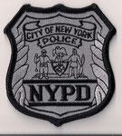 Insigne de Casquette - NYPD - Cap Crest