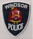 Windsor Police  (Fond gris/grey - Contour blanc/white)  (Ancien/Obsolete)