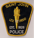 Saint John Police  (Jaune/Yellow)  (Ancien/Obsolete)