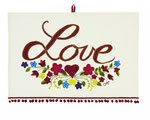 UT006 Boho Love Tea Towel