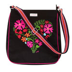 617JHC Boho Heart Messenger Bag