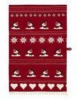 UT003 Christmas Robin Tea Towel