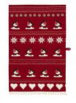 UT003 Christmas Robin Tea Towel