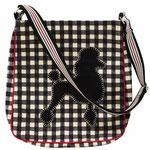 617JCP Poodle Messenger Bag