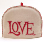 TC16 Love Tea Cosy(Cream)