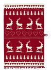 UT004 Christmas Stag Tea Towel