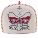 TC38 Wool Crown Tea Cosy(Cream)