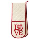 UW015 Love Double Oven Glove
