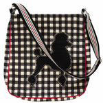 617JCP Poodle Messenger Bag