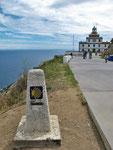 Leuchtturm Farro de Finisterra.