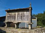 Typische für Galicien Getreidetrockner.