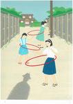 橋本治・「リア家の人々」新潮社文庫1月新刊、原画2012