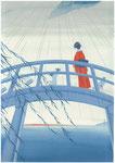 藤沢周平「時雨のあと」装画練習・2012