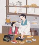 「パパッと出せる和年賀状」翔泳社 原画