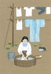 春の洗濯、2014