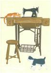猫とミシン グリとイッチ 2016