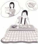「週刊金曜日」連載主婦の科学・アズマカナコ著、家計簿 2014