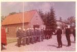 """Feuerwehrhaus in Kühren """"dat Sprüttenhus"""" 1952 - 1974"""