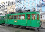 Der Trammotorwagen Be 2/2 Nr.181 am Bahnhof SBB, 2016